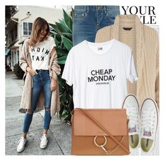 """""""2222. Blogger Style: Tuula"""" by chocolatepumma ❤ liked on Polyvore featuring Oris, Pussycat, Yves Saint Laurent, Dorothy Perkins, Cheap Monday, Converse and Chloé"""