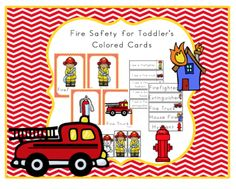Fire+Safety+for+Toddlers+Colored+Cards+from+Preschool+Printables+on+TeachersNotebook.com+-++(17+pages)++-+Posters-Vocabulary+cards-+Sentences-Sequencing-Puzzles