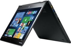 """Lenovo - Yoga 700 14"""" 2-in-1 Touch-Screen Laptop - Intel Core i5 - 8GB Memory - 256GB Solid State Drive - Black - Front Zoom"""