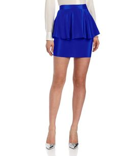 Amanda Uprichard Women's Peplum Skirt: Clothing