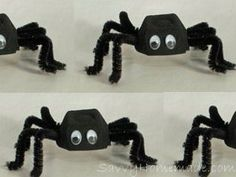 Egg box spiders
