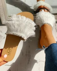 Shoes, Sandals, Flats-Sandals $32.99 - Boutiquefeel