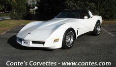 1982 classic corvettes  Loved that car!