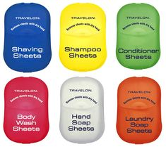 Whatspacking - Awesome stuff for your type of travel - ALL - Travelon Toiletry Sheets