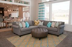 Striped Peony – Utah Valley Parade of Homes 2014