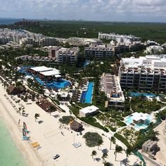 Wow...Excellence Playa Mujeres aerial view! #Cancun #Mexico
