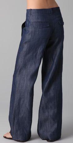Tibi Wide Leg Jeans | SHOPBOP