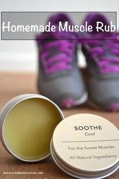 Don't reach for that Bengay, Tiger Balm or Icy Hot, the next time you have tired, sore muscles. They contained artificial & synthetic ingredients that when applied on your skin are likely absorbed into your body. Make your own muscle rub with all nature ingredients. Your body will thank you!
