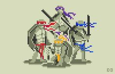Harmonie Games, Pixel Art : Doodle TMNT Follow me on :  https://www.facebook.com/harmonie.games
