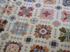 lucy+boston+patchwork+of+the+crosses | Here are some photos of the individual blocks: