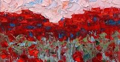"""Original Palette Knife Oil Landscape Painting 8""""x12""""x1"""" Canvas Available Click HERE for purchase info.  JudithBabcockFineArt.c..."""