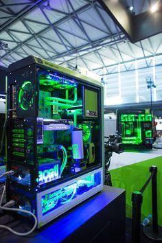 This green beauty was on display at ChinaJoy