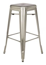 Love the industrial looking French stool