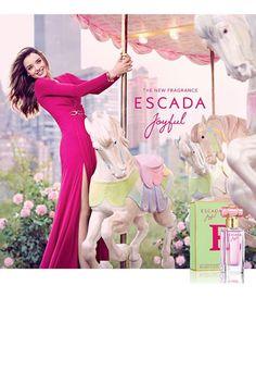 Primera imagen de la campaña de Joyful, el último perfume de Escada. | Galería de fotos 2 de 11 | GLAMOUR