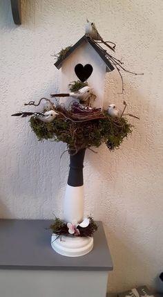 Wat een leuk voorjaarstuk! | DIY met spullen van de Action | bespaarmama.nl