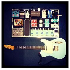 Anthony Buonocore's pedal board
