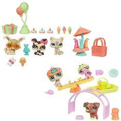 Littlest Pet Shop Themed Play Packs Garden and Dog Set