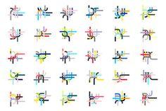 Actualité / Identité générative pour les Alumni de l'EPFL  / étapes: design & culture visuelle