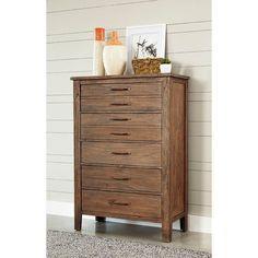 Panama Jack Driftwood 5 Drawer Chest - 124-150