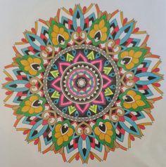 Colorit Coloring Club Colorist: Barbara Brown #adultcoloringpages #coloringpages #adultcoloringbook #mandala