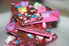 valentine bark for goodie bags