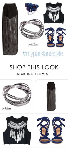 """""""My Park Lane Style"""" by parklanejewelry on Polyvore featuring WithChic and Gianvito Rossi"""