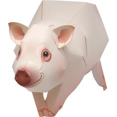 Download a Miniature Pig Pet Series papercraft model from Canon Creative Park. The site is full of interesting content, like Paper Craft and Scrapbook, so you're sure to find something you like. Have fun