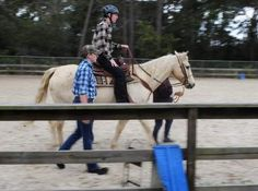 The twins, born in Bulgaria, struggled with post-institutionalized stress, and the effects of autism made them anxious, especially in social situations. . . On a bad day, a ride can create an almost immediate change in the girls. There's almost something spiritual about their connection with these horses.