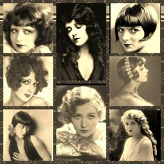 silent film actresses