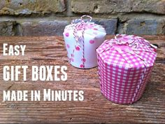 Super easy last minuted gift or favour boxed. Perfect for that awkward little present that needs wrapping or for favours at a party or wedding! Come take a peak and don't forget to subscribe to this YouTube channel for #tweens and #teens