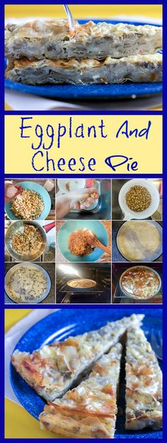 Eggplant and cheese pie: unconventional, savory, simple. Sweets Recipes, Cheese Recipes, Pie Recipes, Delicious Recipes, Cooking Recipes, Tasty, Desserts, World's Best Food, Best Food Ever