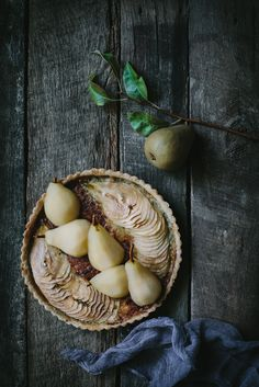 Pear & Blue Cheese Tart by Eva Kosmas Flores   Adventures in Cooking