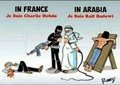 Charlie Hebdo and Raif Badawi
