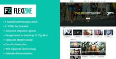 Flexi is a clean personal blog PSD template with mordern style for those who want to share their stories, moments, trips, fashion, food, photos collection or lifestyle.  Flexi has a delicate and im...
