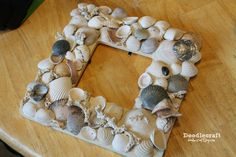 Seashell Memory Frame Keepsake!--Teagan Legare MAKE