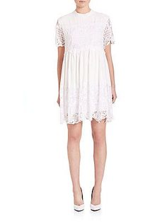 Kendall   Kylie Lace Babydoll Dress