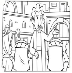 Paul and Barnabas Coloring Pages
