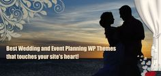 Best Wedding and Event Planning WordPress Themes that touches your site's heart!