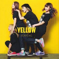 SCANDAL [YELLOW] #scandalband
