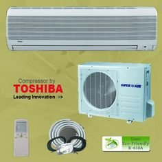 18000 1.5 Ton Btu Ductless Mini Split Air Conditioner Unit AC A/C System Heat Pump + Free Installation Kit by BZBGOODS, http://www.amazon.com/dp/B004DRR69E/ref=cm_sw_r_pi_dp_AKlVqb0MF07H9