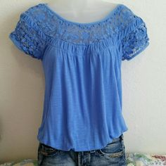 SALE!!  American Rag blouse Worn a couple of times. Really cute American Rag Tops Blouses