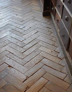 Interesting design for wood floor or brick. Herringbone floors.