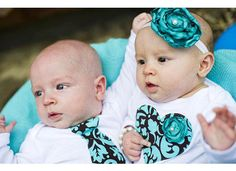 Hey, I found this really awesome Etsy listing at http://www.etsy.com/listing/83960428/twins-baby-bodysuits-set-2-matching-baby