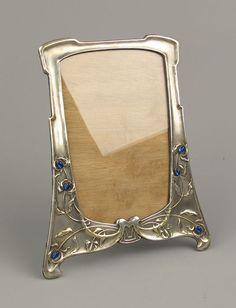 Art Nouveau, Art Deco, Porcelain, Frame, Silver, Messing, Hobbies, Vanity, Home Decor