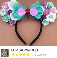 Ariel ears from Etsy