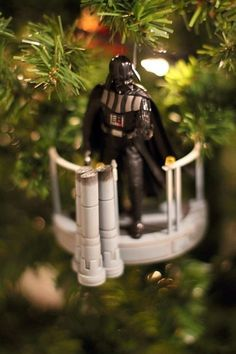 Star Wars Christmas Ornaments Decorations Tie Figher Star Wars ...