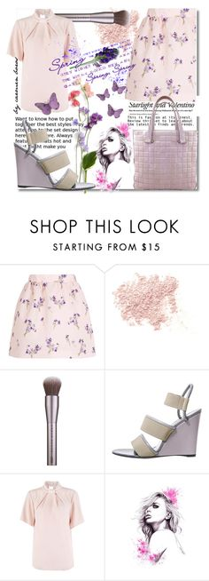 """""""spring ... lilas flowers"""" by boroscarmen ❤ liked on Polyvore featuring Valentino, RED Valentino, Bare Escentuals, Urban Decay, Balenciaga, Closet and Chanel"""