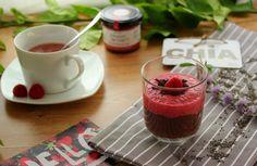 Pudding de Chía con Frambuesa y Cacao. Cocinando con las chachas Blog.