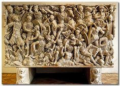Ludovisi Sarcophagus | This is the Ludovisi (Battle) Sarcoph… | Flickr