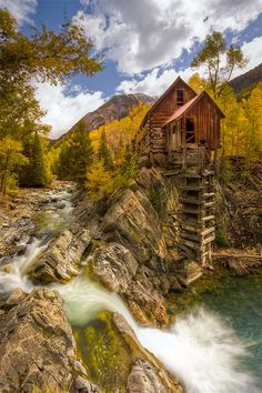 "Old Crystal Mill - Colorado, USA • ""Old Crystal Mill"" by Stephen Oachs on http://500px.com/photo/774862"